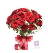 Bunch of 30 Red Roses