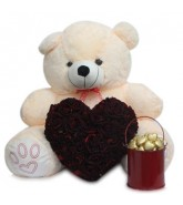 Red Heart W/h Teddy