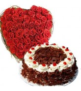Heart and Cake