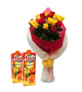 Roses and Real Fruit Juice