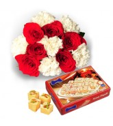 Carnations And Soan Papdi
